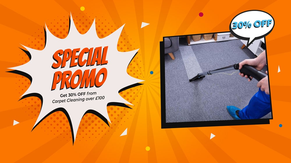 30% OFF from Carpet Cleaning